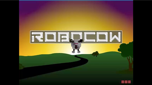 Screenshot of the animation The Aquifer Connection - Featuring Robocow.
