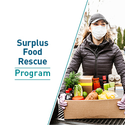 Surplus food rescue program