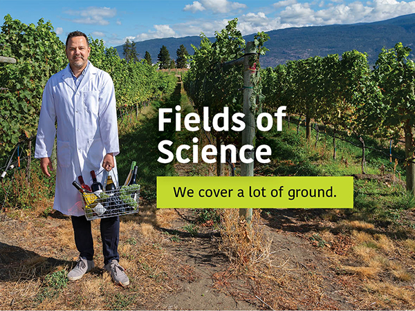From the Field to Your basket.  We cover a lot of ground.