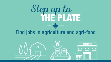 Step up to the plate - Find jobs in agriculture and agri-food