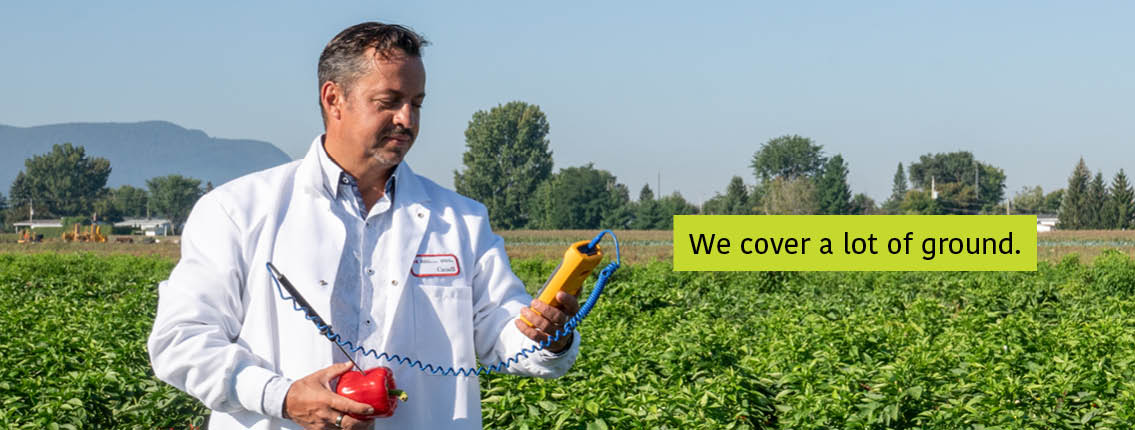 Dr. Tony Savard banner Text: We cover a lot of ground