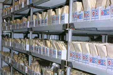 One of PGRC's coldroom seed storage vaults.